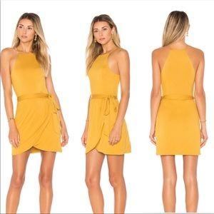 x REVOLVE Rya Dress in Gold S